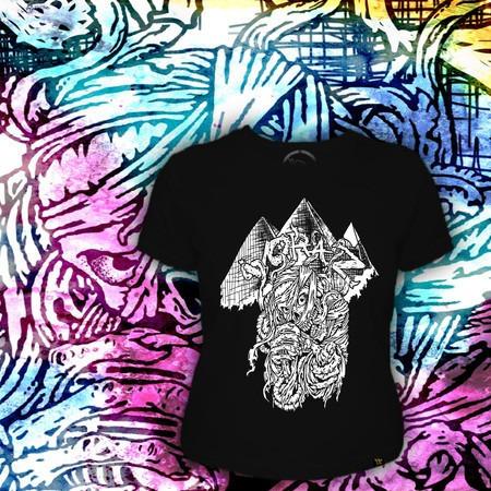 camiseta baby look voraz t-shirt - mumia