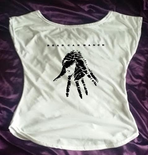 camiseta babylook canoa dead can dance 01 - do p ao gg