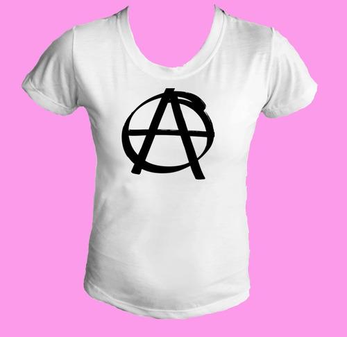 camiseta babylook feminina anarquia anarquismo anarquistas 1
