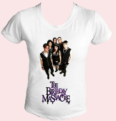 camiseta babylook feminina banda the birthday massacre 07