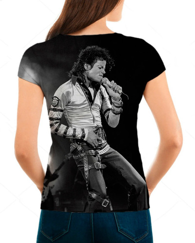 camiseta babylook feminina michael jackson bad live 01