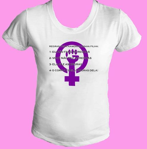 camiseta babylook feminismo feminista mulher igualdade 01