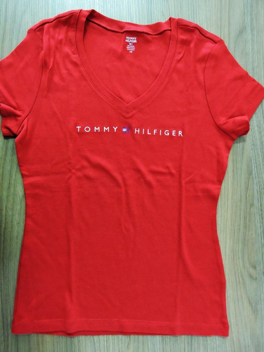 1faaa88dcdf59 camiseta babylook tommy hilfiger promoção novas. Carregando zoom.