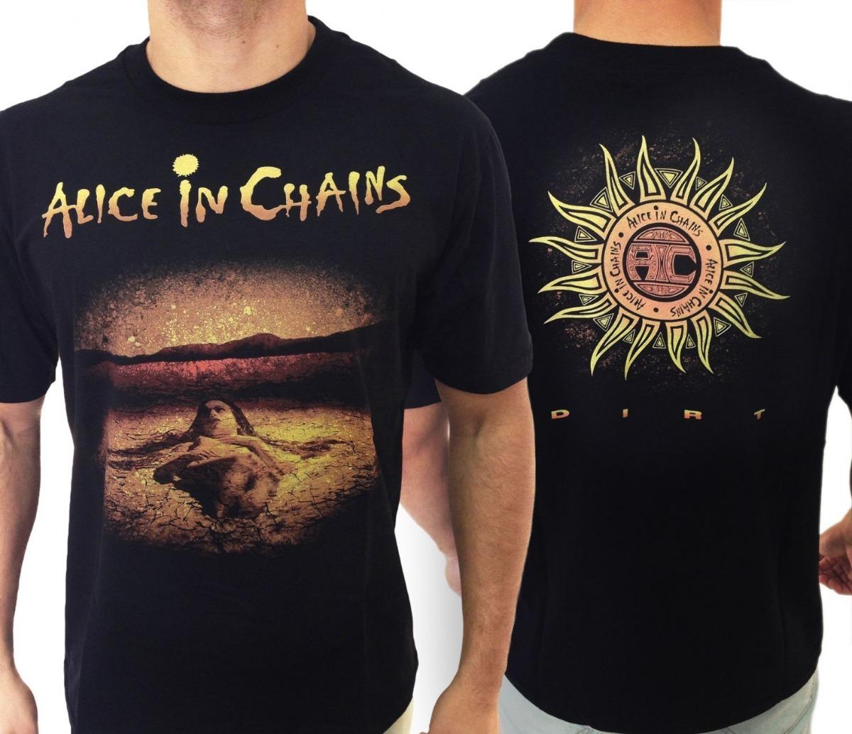 681c575955 camiseta banda alice in chains - dirt - consulado rock xxg. Carregando zoom.