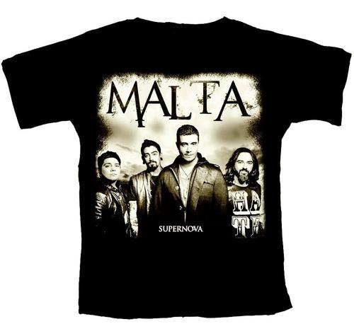 camiseta banda malta