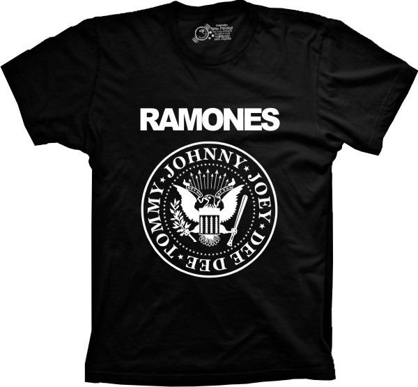 05ae8b6d9e875 Camiseta Banda Ramones Masculina Feminina Infantil - R  39