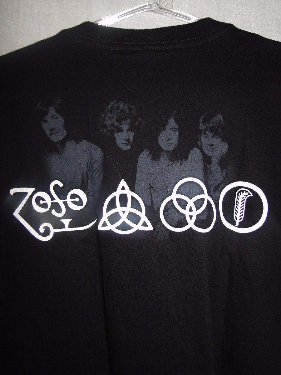 487cf876a camiseta banda rock led zeppelin consulado. Carregando zoom.