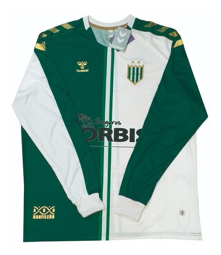 camiseta banfield alternativa hummel 2019 + numero + nombre
