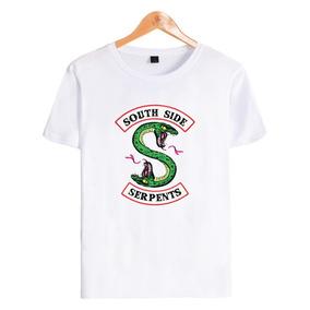 af14a2e8c4 Serpentes Do Sul Riverdale - Camisetas e Blusas no Mercado Livre Brasil