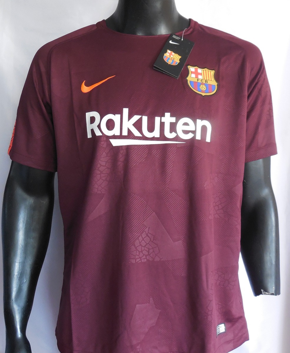 Camiseta Barcelona 17 18 Tercera Nike - S  70 20cefb1eada