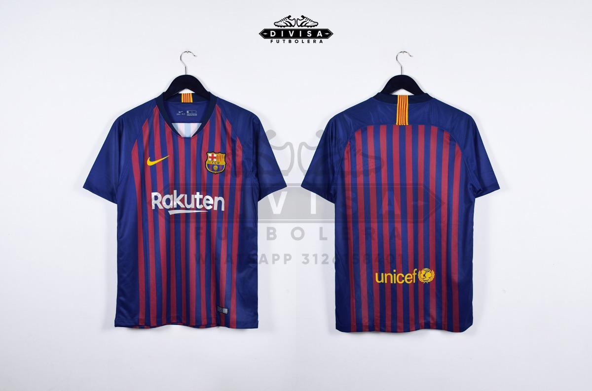 Camiseta Barcelona 18-19 Version Hincha Messi Coutinho -   129.900 en  Mercado Libre 7211d6f3219