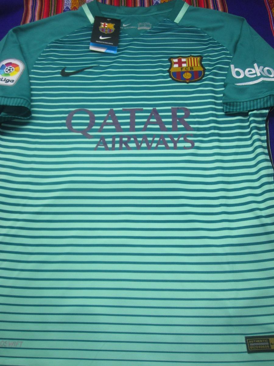 efa71d0f10ed7 camiseta barcelona 2016-2017 verde. Cargando zoom.