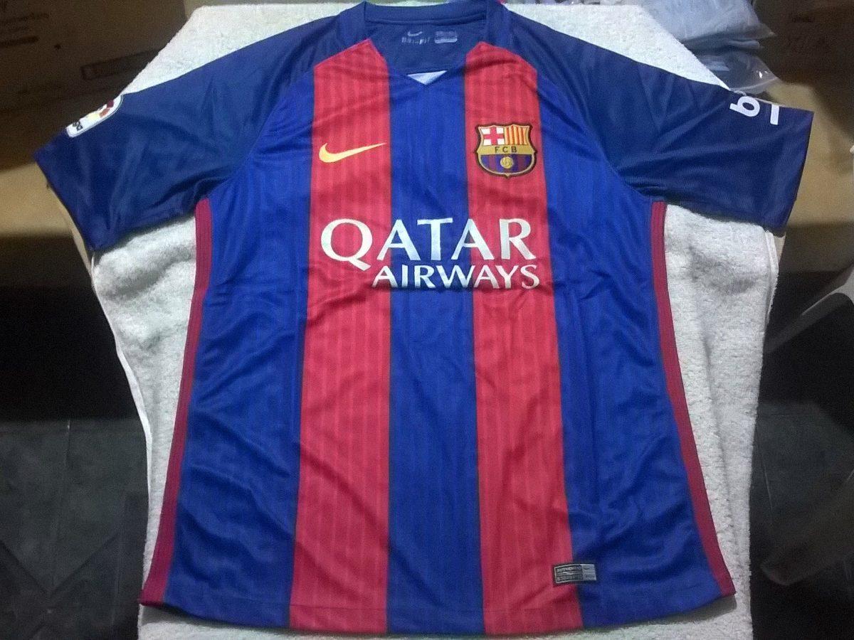 c78638bf369e1 Camiseta Barcelona 2017 Nike Dryfit Original Stadium Titular -   739 ...