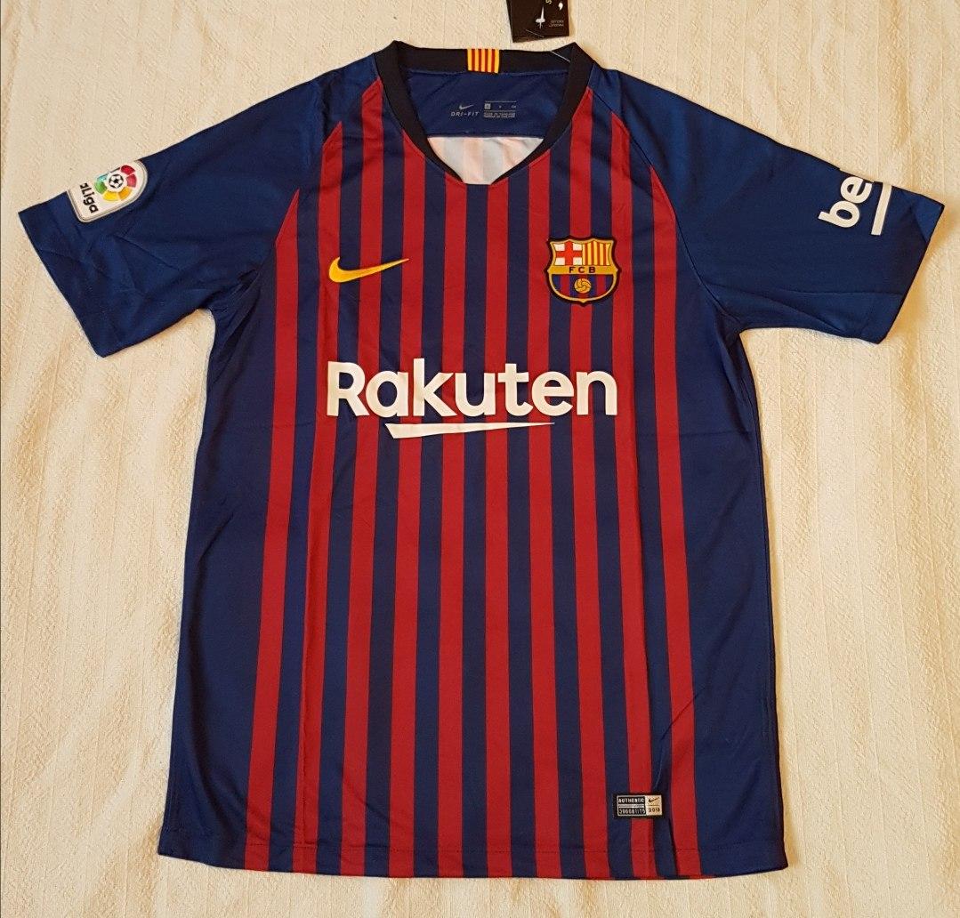3d1e5bbbb2498 camiseta barcelona 2018 2019 messi suarez coutinho. Cargando zoom.
