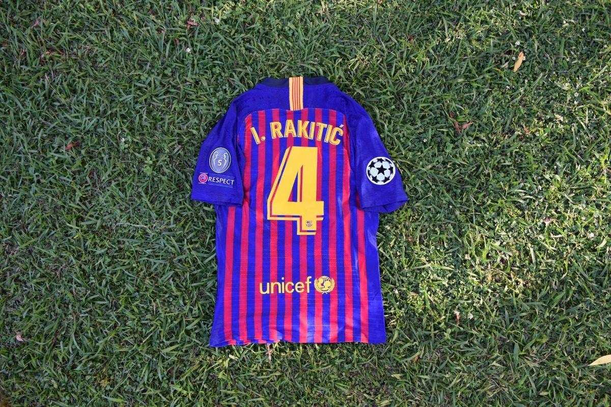 camiseta barcelona 2019 champions league arthur rakitic. Cargando zoom. 6cd81e1e55979