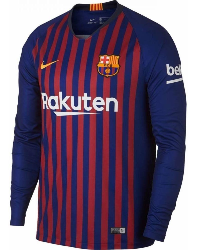 5607b345de camiseta barcelona 2019 manga longa personalizada. Carregando zoom.
