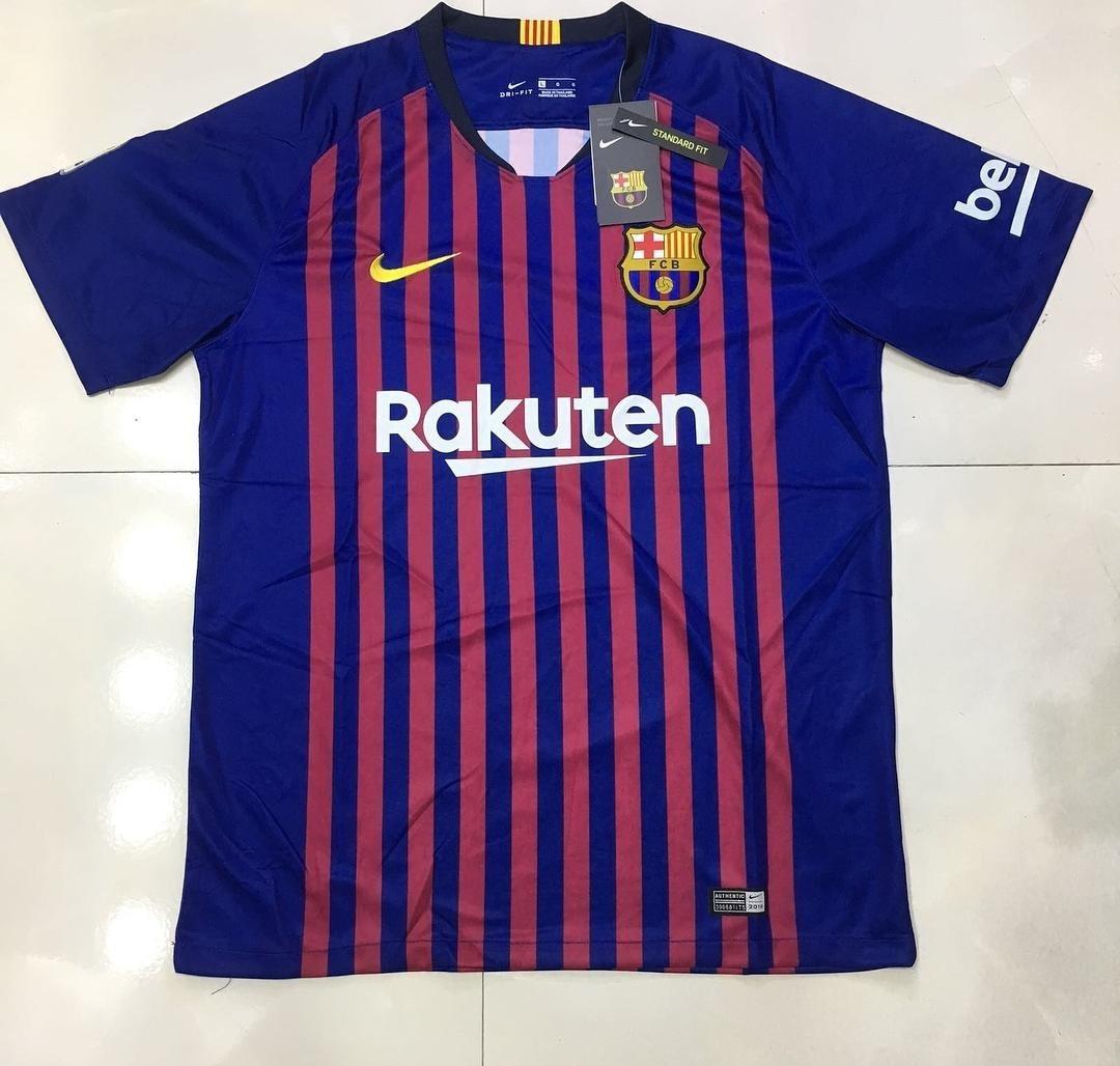 d8097d3607f48 camiseta barcelona coleção 2018 19. Carregando zoom.