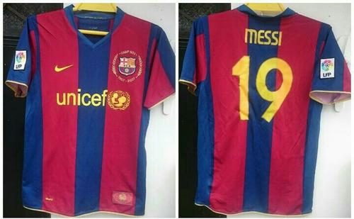 camiseta barcelona españa año 2005 talla l messi