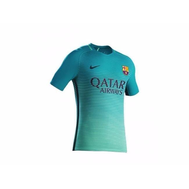 Camiseta Barcelona F.c 2016-2017 Match Alterna Aeroswift -   130.000 ... bfb7b67bee2