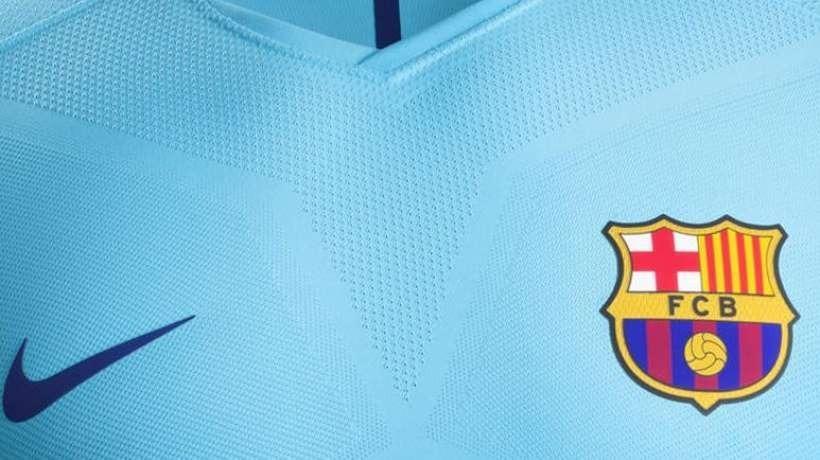 583871de84c9e Camiseta Barcelona F.c 2017 2018 Version Aeroswift Liga -   170.000 ...