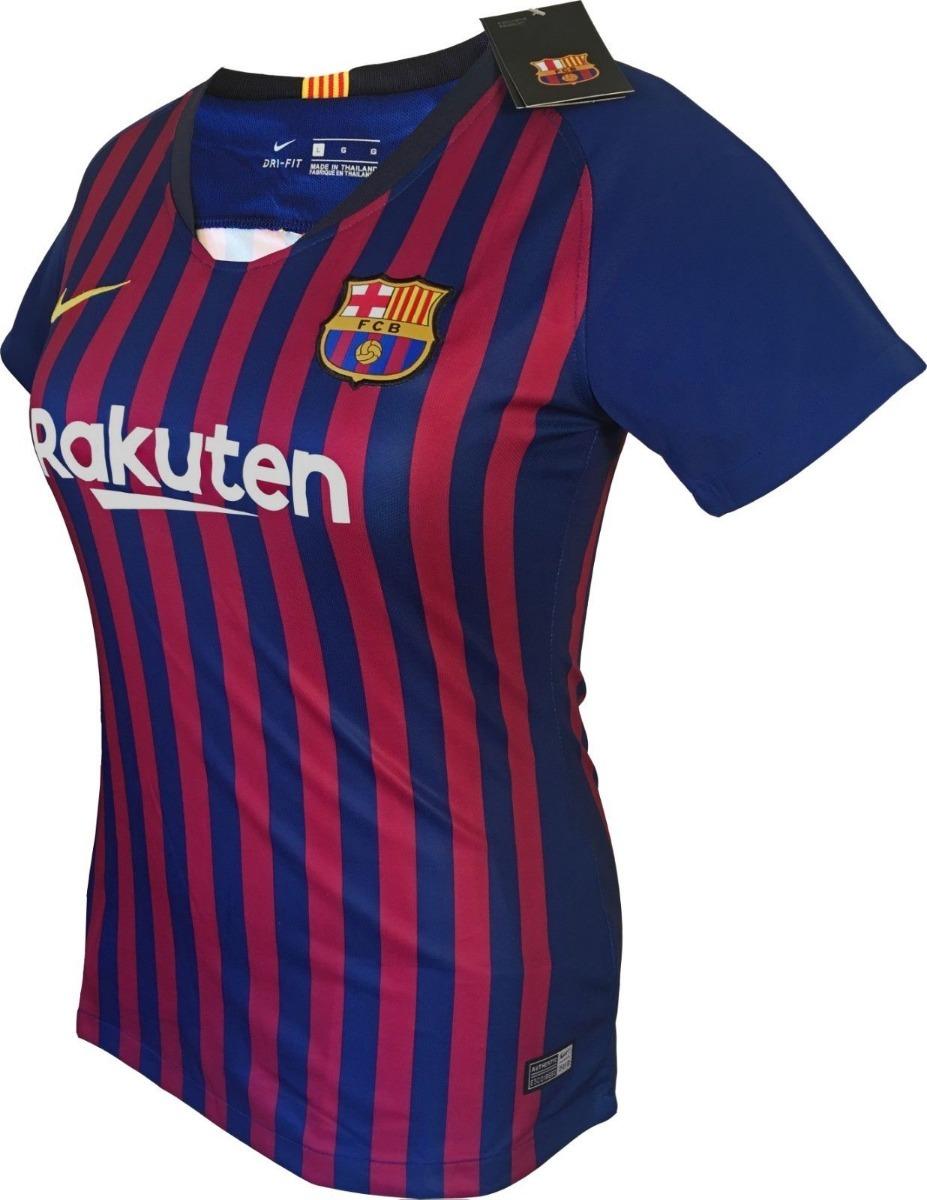 942de68612765 camiseta barcelona f.c 2018 2019 messi 10 para mujer oficial. Cargando zoom.