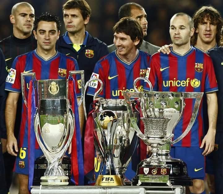 Camiseta Barcelona Fc Año Del Sextete Talla L Marca Nike -   19.900 ... 42dd9d0b145