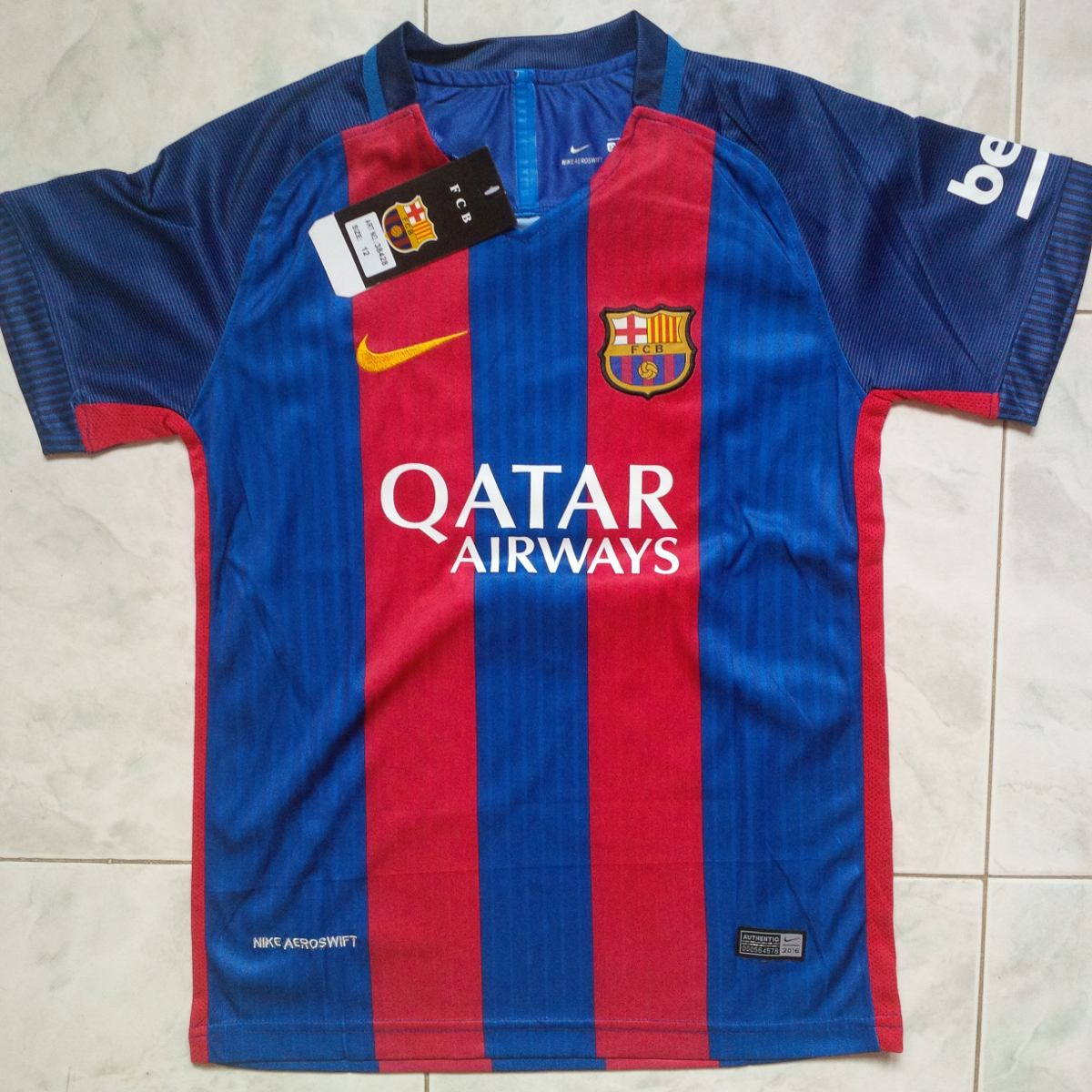camiseta barcelona fc local 2016 2017 solo adultos messi. Cargando zoom. 8cdd0b526d5