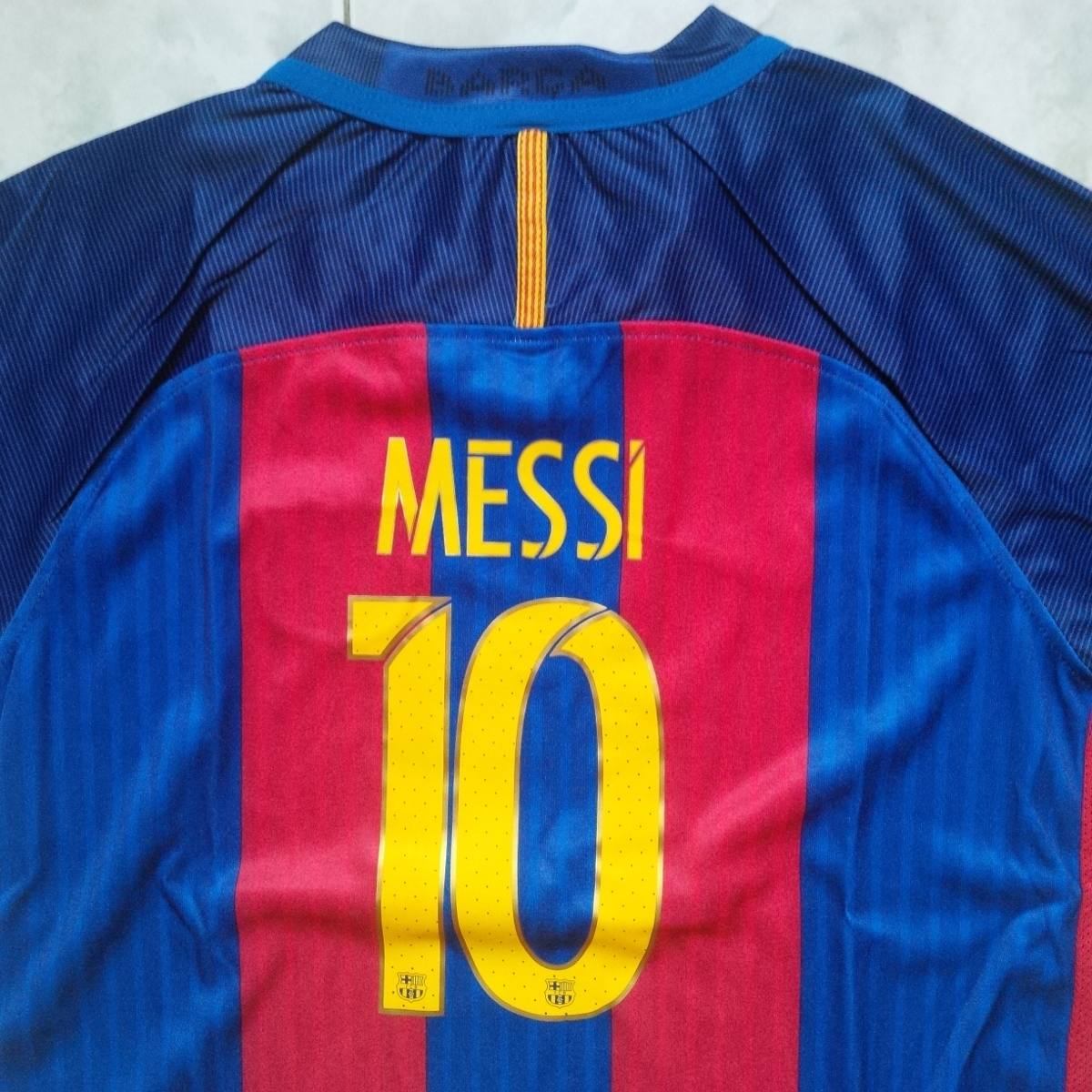 camiseta barcelona fc local 2016 2017 solo niños messi. Cargando zoom. bdfd919467c