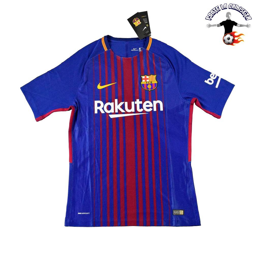 ce000f91152a0 Camiseta Barcelona Local 2017 18 - Versión Jugador - S  199