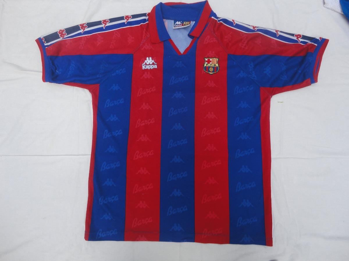 c951ea8f92a1f camiseta barcelona marca kappa - rivaldo  11!!! Cargando zoom.