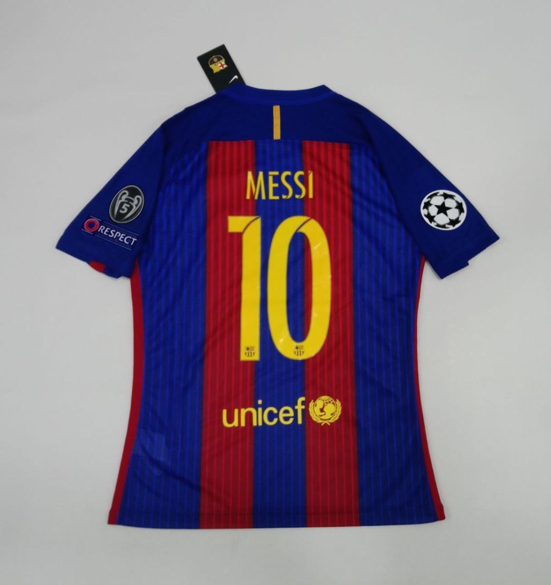 Camiseta Barcelona Messi 10 Version Champions 2016-2017 -   225.000 ... 483d93f5493eb