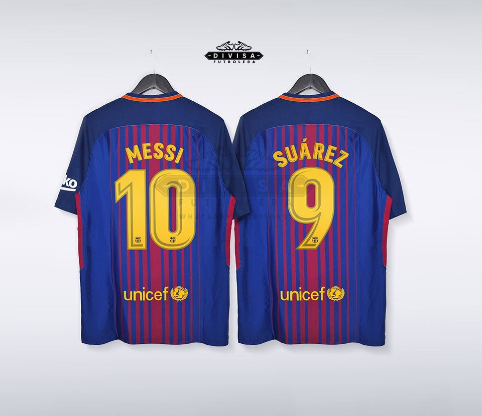 Camiseta Barcelona Messi 17-18 Aeroswift Tipo Player -   99.900 en ... f48ae9ace5004
