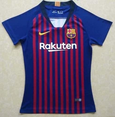 0e75cbb45d448 Camiseta Del Barcelona Tradicional Para Mujer Temp 2019 -   110.900 ...