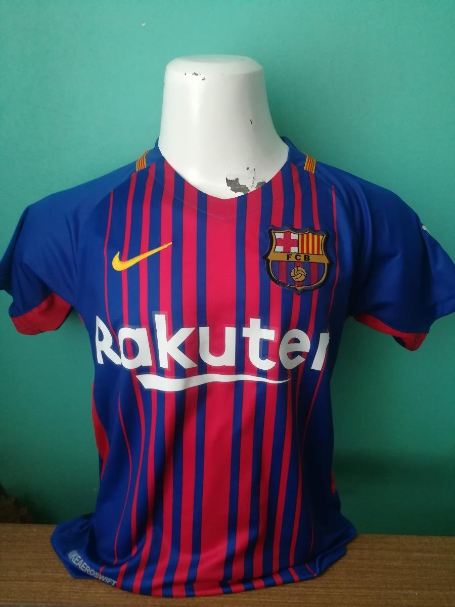 ddbb7876c1497 Camiseta Barcelona Niño 2018