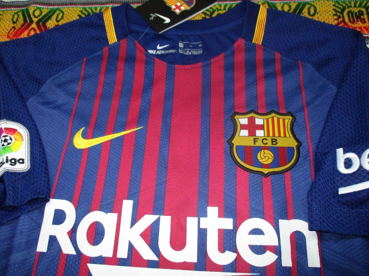 Camiseta Barcelona 2017-2018 Niño -   999 754cbd727f9