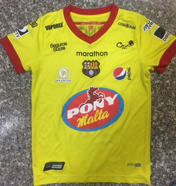 Camiseta Barcelona Original Niño Talla 8 Años - U S 15 322ba583cf7