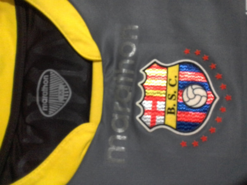 camiseta barcelona sporting club bsc año 2012 talla m