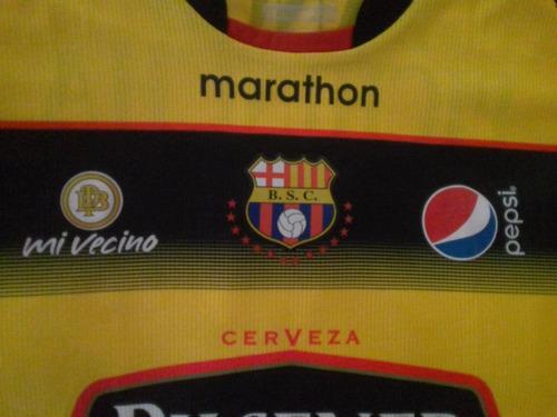 camiseta barcelona sporting club bsc año 2015 talla m