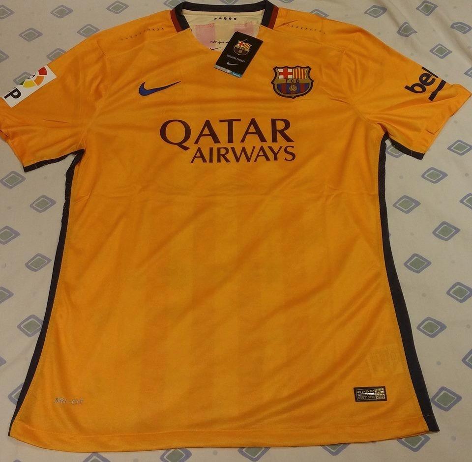 Camiseta Barcelona Titular Suplente 2015 16 -   499 88e625f6068