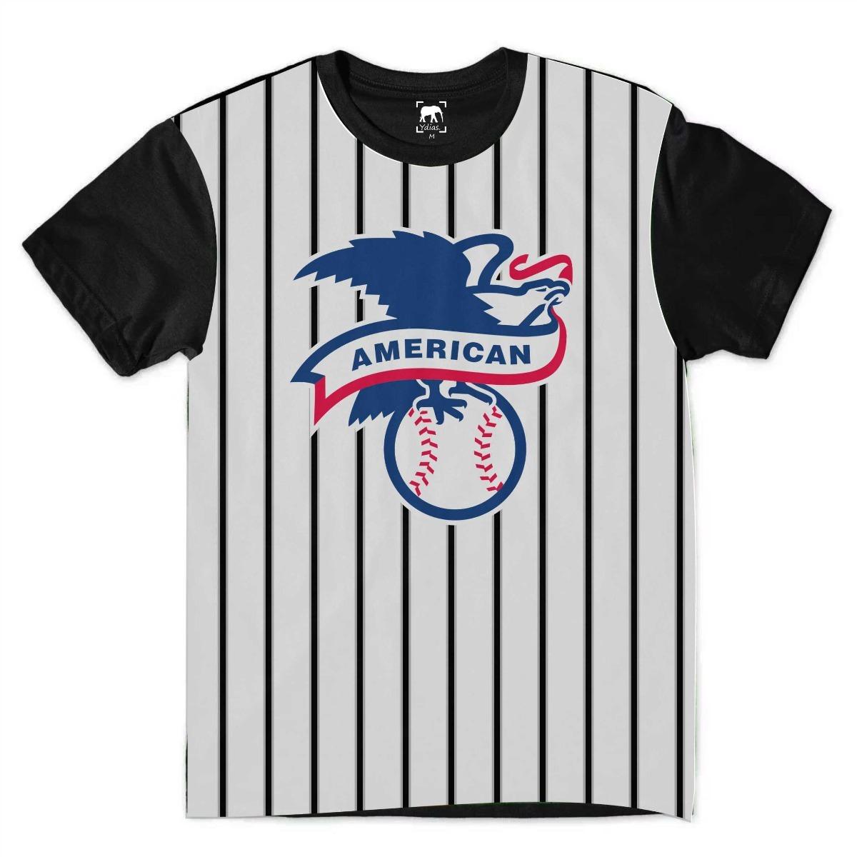655992f076f74 Camiseta Baseball American League Listrada Bs9 Ydias - R  50