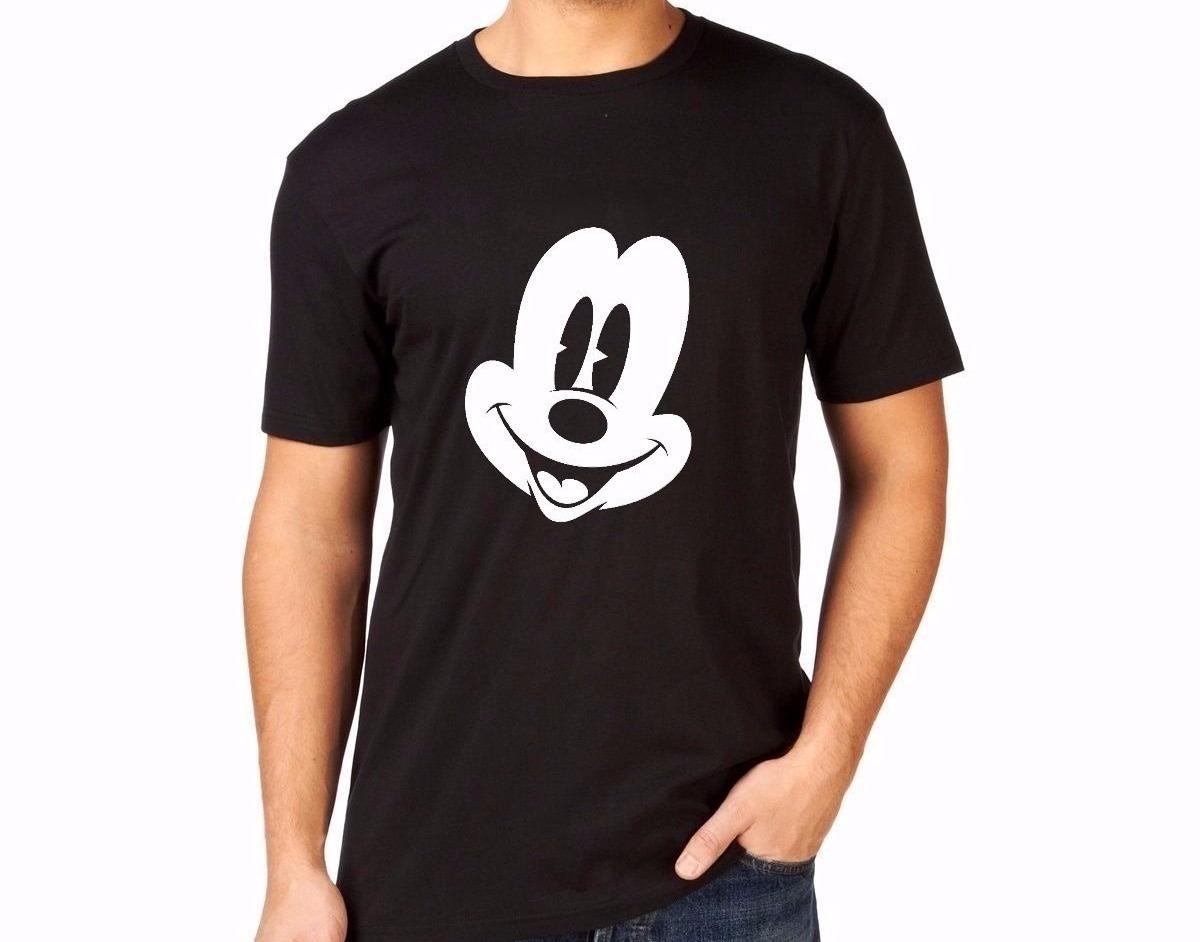 1cb7c1985b camiseta básica camisa unissex logo face mickey mouse rosto. Carregando  zoom.