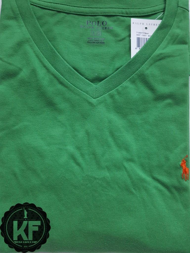 camiseta básica gola v ralph lauren original. Carregando zoom. 4ec0b852730
