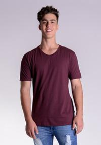 79466b7856 Camiseta Vinho Basica - Calçados