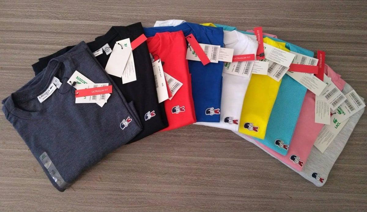 Camiseta Basica Lacoste França Original Tshirt Peruana - R  47,00 em ... c608033a7d