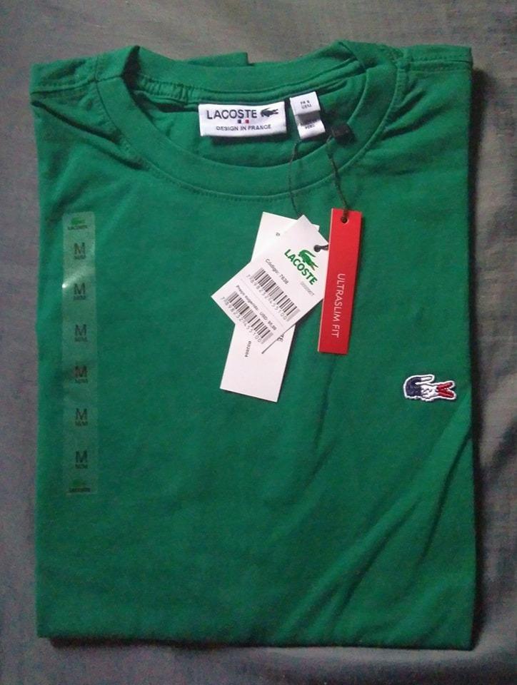 Camiseta Basica Lacoste Original Peruana Promoção Tshi - R  47,50 em ... b4763b8cea