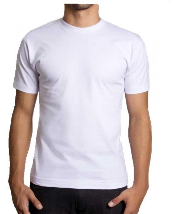 829b8fa460 Camiseta Básica Lisa Malha 100% Algodão 30.1 Cores Variadas - R$ 17 ...
