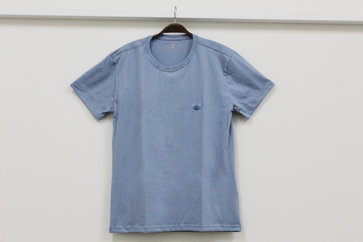 3a9a8b2da7 camiseta básica masculina polo wear azul jeans p000013679. Carregando zoom.
