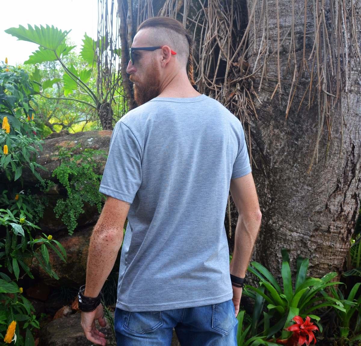 a702ea6551c2d camiseta básica mescla cinza masculina cool verão clássica. Carregando zoom.