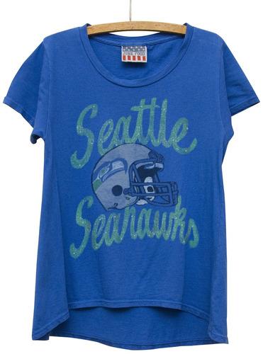 camiseta básica nfl seattle seahawks, x-large