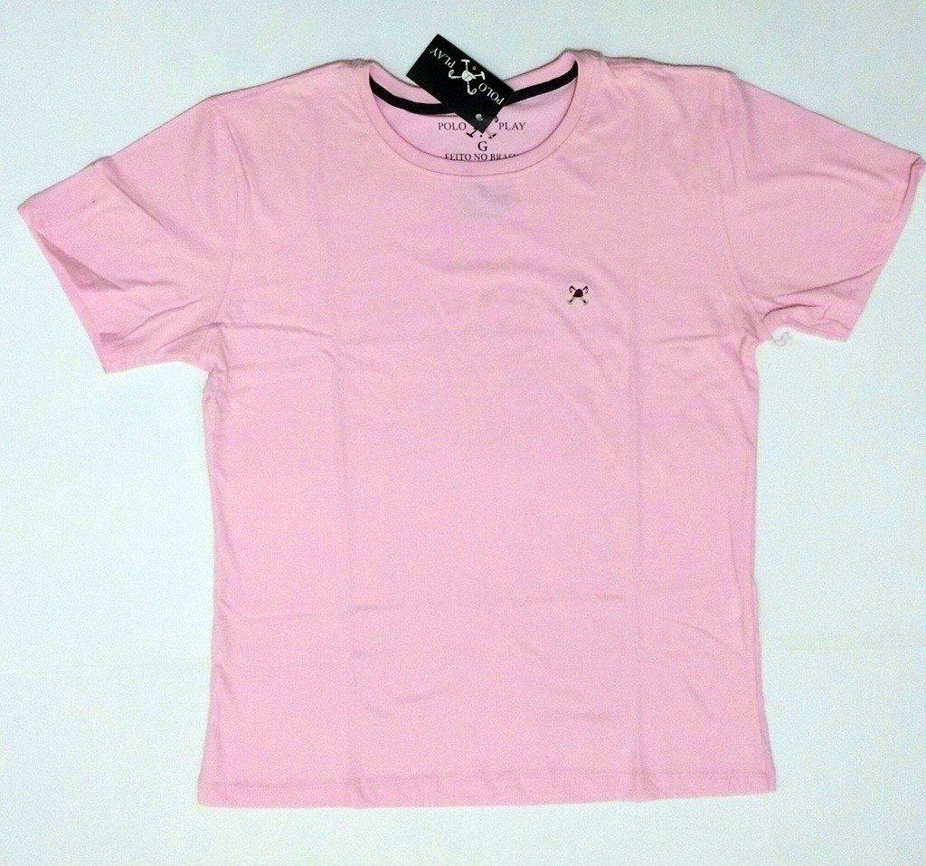 65bb99e4818cb camiseta básica polo play 100% algodão. Carregando zoom.